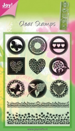 6410-0062 Clearstempel - Joy Crafts