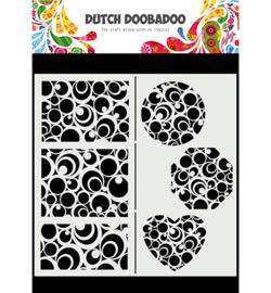 470.715.825 - Mask Art Slimline Circles - Dutch Doobadoo
