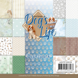 ADPP10028 Paperpad - Dog's Life - Amy Design