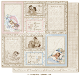 751 Scrappapier dubbelzijdig - Vintage Baby - Maja Design