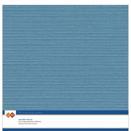 40 Turquoise - Linnen Karton 30,5 x 30,5cm - 10 stuks - 200 grams - Card Deco - PAKKETPOST!!