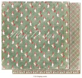 1123 Scrappapier dubbelzijdig - Traditonal Christmas - Maja Design