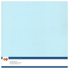 27 Baby Blauw - Linnen Karton 30,5 x 30,5cm - 10 stuks - 200 grams - Card Deco - PAKKETPOST!!