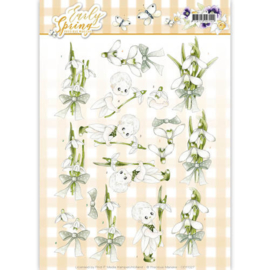 CD11027 Knipvel A4  -  Early Spring- Marieke Design