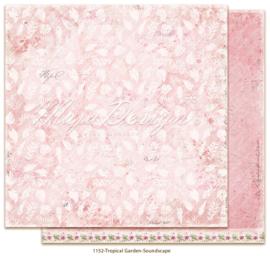1152 Scrappapier dubbelzijdig -  Tropicial Garden - Maja Design