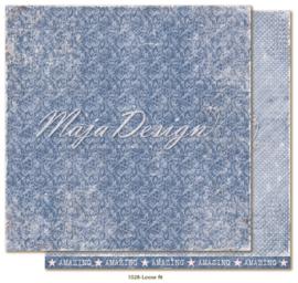 1028 Scrappapier dubbelzijdig - Denim en Girls - Maja Design