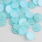 Parelflower cirkel - 10 stuks - Licht Blauw