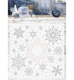 EMBSA02 Snij- en embosmal  - Snowy Afternoon - Studio Light
