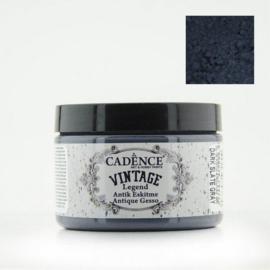 Vintage Legend Antique Gesso - Dark Slate Grey 150ml - Cadence  - PAKKETPOST !!!
