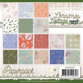 JAPP10022 Paperpad - Christmas Cottage- Jeanine's Art