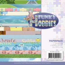 YCPP10036 Paperpad - Funky Hobbies - Yvonne Creations