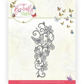 JAD10121 Snij- en embosmal - Butterfly Touch - Jeanine's Art