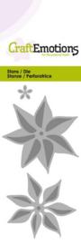 115633/0178 Snij- en embosmal Kerst Roos- Craft Emotions