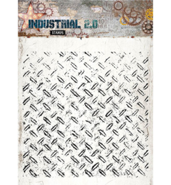 STAMPIN251 Stempel 14x14cm  - Industrial 2.0 - Studio Light