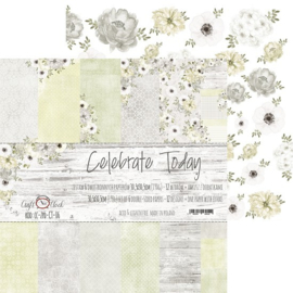 Paperpad 30,5 x 30,5 cm - Celebrate Today - Craft-O-Clock