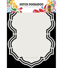 470.713.202 Dutch Shape Art A5 - Dutch Doobadoo