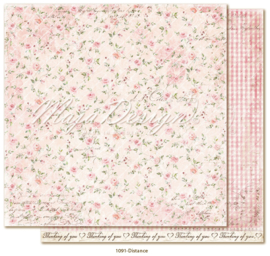 1091 Scrappapier dubbelzijdig - Miles Apart - Maja Design