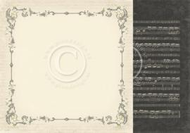 PD6805 Scrappapier dubbelzijdig - To My Valentine - Pion Design