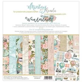 Paperpad 30.5 x 30.5cm - Wanderlust - Mintay - PAKKETPOST!