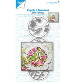 6002-1615 - Vogels & Bloemen - Joy Crafts