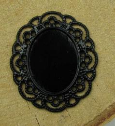 Frames 100 - 3 stuks; 4.2x3.5cm - Zwart