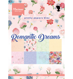 PK9160 Paperpad Romantic Pictures - Marianne Design