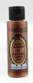 Gilding metallic acrylverf 70ml - Antiek Brons - Cadence