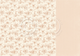 PD18007 Scrappapier dubbelzijdig - Life is Peachy - Pion Design