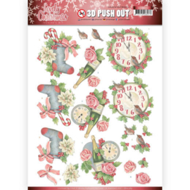 SB10389 Uitdrukvel A4 - Lovely Christmas - Jeanine's Art