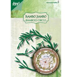 6002-1629 - Stans-embosmal - Noor - Bamboe cirkel