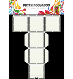 470713049 - Box Art straw dispenser - Dutch Doobadoo