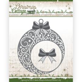 JAD10136 Snij- en embosmal - Christmas Cottage- Jeanine's Art