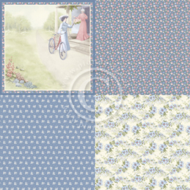 PD9303 Scrappapier - Patchwork of Life - Pion Design