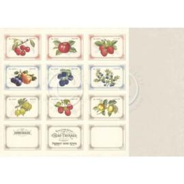PD5309 Scrappapier Dubbelzijdig - Siri's Kitchen - Pion Design