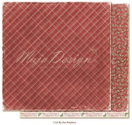 1122 Scrappapier dubbelzijdig - Traditonal Christmas - Maja Design