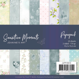JAPP10015 Paperpad Sensitive Moments - Jeanine's Art