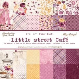 Paperpad 15.2 x 15.2 cm  Little Street Café - Maja Design