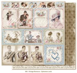 840 Scrappapier dubbelzijdig - Vintage Romance - Maja Design