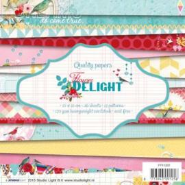 PPFD22 Paperpad 15,2 x 15,2 cm - Flower Delight - Studio Light