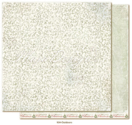934 Scrappapier dubbelzijdig - Joyous Winterdays - Maja Design