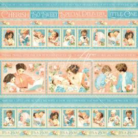 4501085 Scrappapier dubbelzijdig - Precious Memories Collection - Graphic45