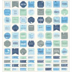 732458 Stickers 88 stuks - Special Delivery Boy - Pebbles