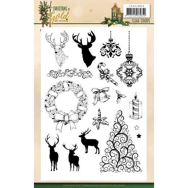 ADCS10059 Clearstempel - Christmas Gold - Amy Design