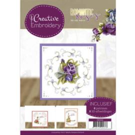 CB10022 Creative Embrodery  - Romantic Roses - Marieke