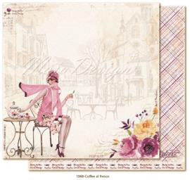 1068 Scrappapier dubbelzijdig - Little Street Café - Maja Design