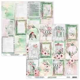 Scrappapier dubbelzijdig 06 - Secret Place - Mintay
