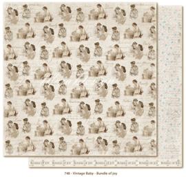 748 Scrappapier dubbelzijdig - Vintage Baby - Maja Design
