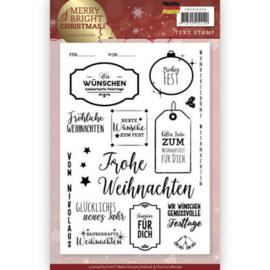 PMCS10036 Clearstempel  - Tekst Duits - Precious Marieke