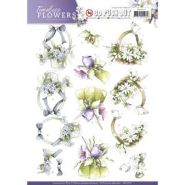 SB10257 Stansvel A4 - Timeless Flowers - Marieke Design