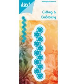6002-0380 Snij- en embosmal - Joy Crafts